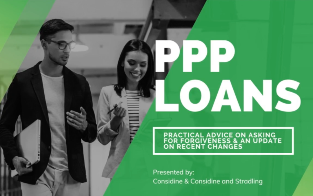PPP Loans: Practical Advice on Asking for Forgiveness